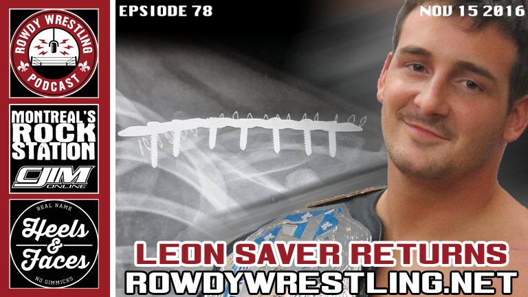 Corgan Gone, Survivor Series Preview AND Sexy Leon Saver RETURNS!