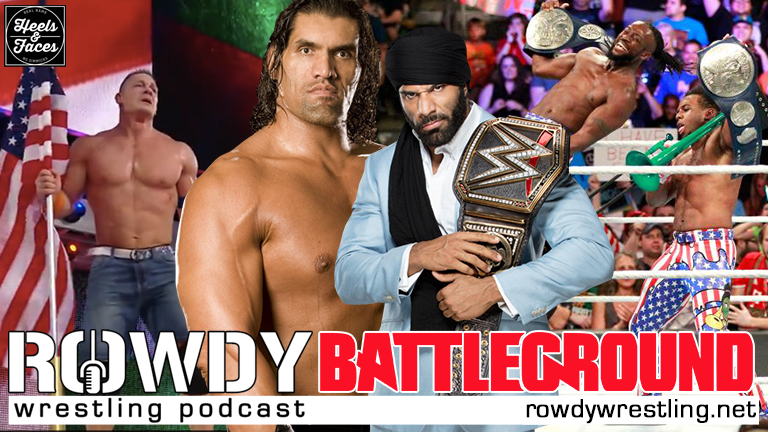 'Merica!.. and India. THE GREAT KHALI RETURNS – #WWEBattleground Review